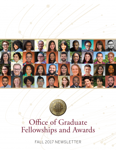 2017 Graduate Fellowship Fall Newsletter Cover.png