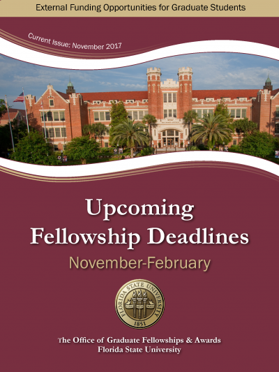 November 2017 Upcoming Fellowship Deadlines Cover.png