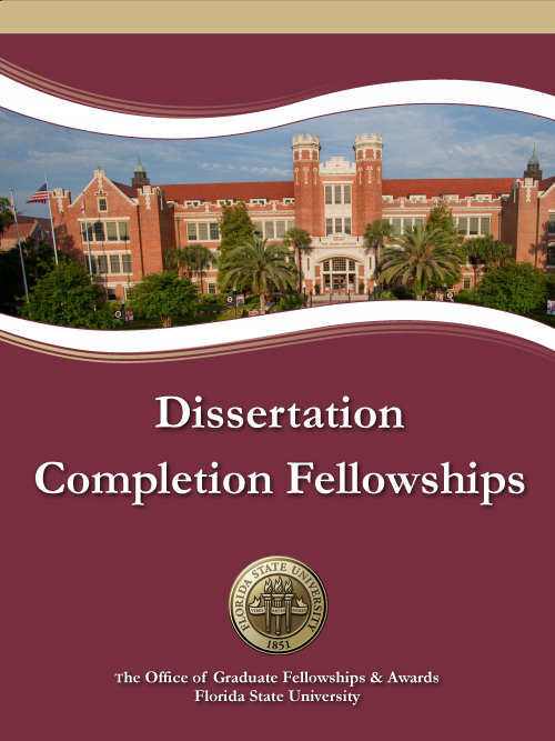 Dissertation completion fellowship
