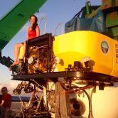 Beatriz Mejia Mercado, Arts & Sciences (Doctoral Student, Oceanography), Deep sea research with submersibles on Seamounts