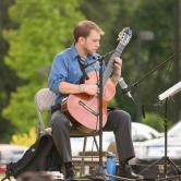 Benjamin Lougheed, Music (Doctoral Student, Strings Performance), Performing at 4th Friday