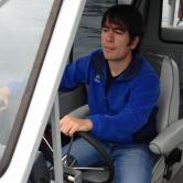 Jake Lane, Music (Masters Student, Arts Administration), Boating to Internship in Alaska