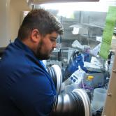 Joe Pennington, Arts & Sciences (Doctoral Student, Molecular Biophysics), Molecular Biophysics Air Sensitive Protein Samples