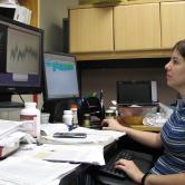 Karen Corbett, Arts & Sciences (Doctoral Student, Molecular Biophysics), Protein Simulation Myoglobin Dynamics