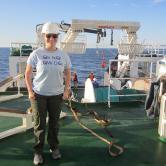 Lauren Gillies, Research Cruise Namibia