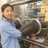 Xin Shan, Engineering (Doctoral Student, Industrial Engineering), Nitrogen filled glovebox